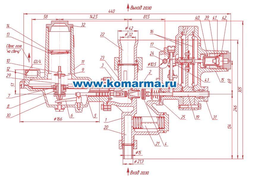 Импульсная трубка к РДГК 10 (0,5м)